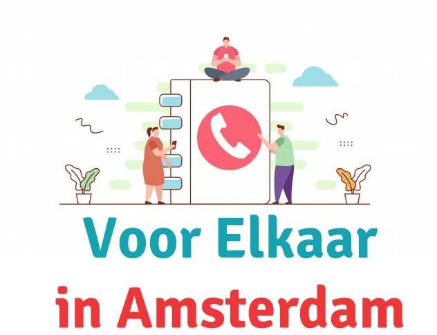 Amsterdammers helpen elkaar